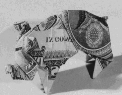 The Government will spend $400mm creating origami pigs to beautify a prison in Moscow Nebraska